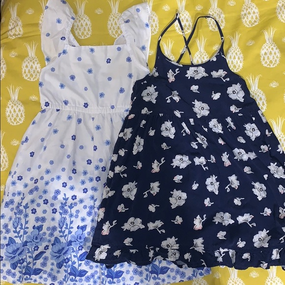 Blue and White Dress Bundle